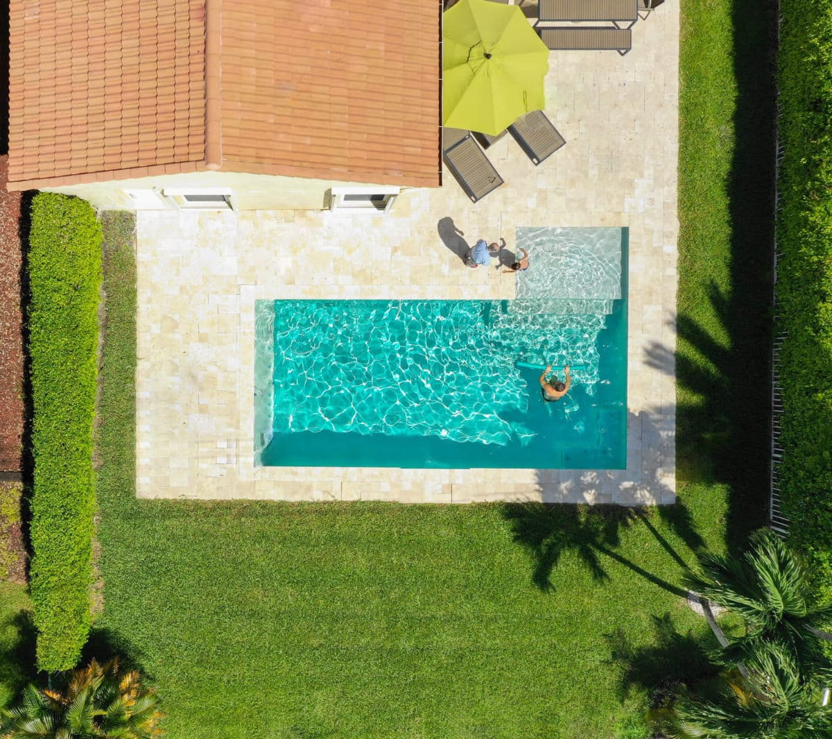 Miami Real Estate Photography Grand Pams Pool